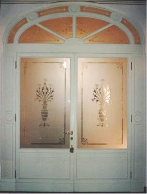 Vetrerie bologna archivetro architettura del vetro per - Decorazioni su porte interne ...